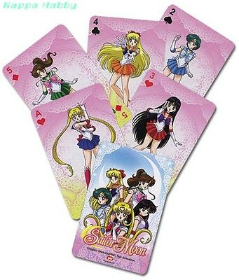 GE Animation Sailor Moon Playing Cards