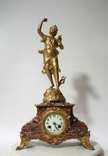 ORMULU FRENCH  CLOCK JAPY FRERES MOVEMENT  STATUE PAR RUCHOT 1880 GILT