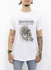 Dream-Theater-T-Shirt-DISTANCE-OVER-TIME-Short-Sleeved-Executive-100-Cotton