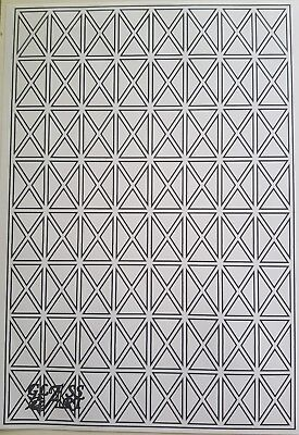 Bereidwillig Lead Templates For Windows Or Crafts 640 X 960 Cad Drawn Diamonds & Rectangles