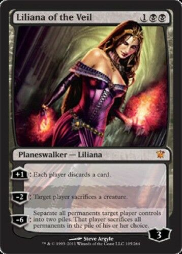 1x Liliana of the the the Veil - Foil Innistrad NM-Mint, English MTG 6cf8eb