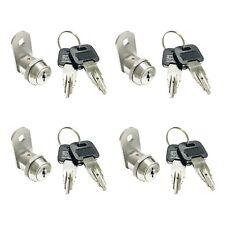 4 Sets Stainless Steel Top Security Cam Lock 58 Waterproof Weather Outdoor1481