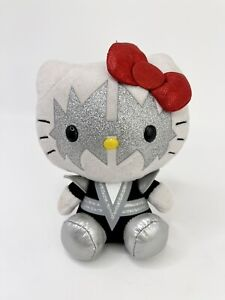 """Ty Hello Kitty Plush Kiss Spaceman 6"""" 2013 Beanie Babies Preowned Toy Rock Band"""
