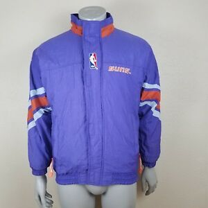 Details about Vintage 80 s 90 s Phoenix Suns Starter Puffer Bomber Jacket  Size Large Quilted 50e8f1e52f
