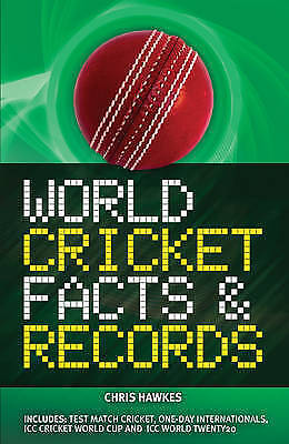 World Cricket Facts & Records, Chris Hawkes, Used; Like New Book