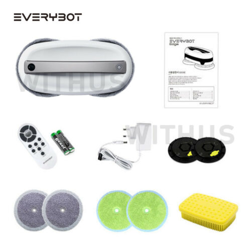 Everybot Edge Dual-Spin Mopping Robot Cleaner Sweeper Wet Washing