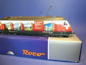 """* Roco H0 73282 Numérique/sound: """"railaway"""" Br460 048-2 Sbb E-lok Ep. Vi-afficher Le Titre D'origine"""