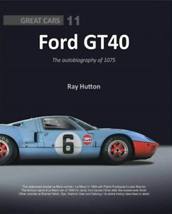 Ford-GT40-autobiography-of-1075-Gulf-Le-Mans-Spa-Sebring-Shelby-Buch-book