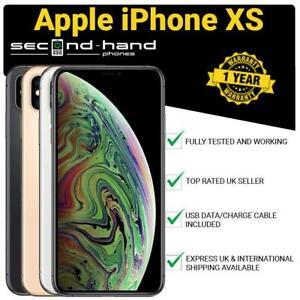 Apple-iPhone-XS-64-256-512GB-Unlocked-SIM-FREE-Smartphone-1-Year-Warranty