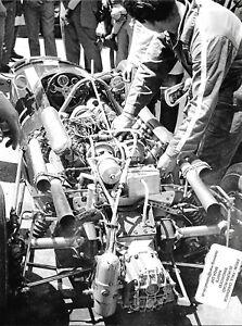 PEDRO-RODRIGUEZ-COOPER-MASERATI-CAR-PHOTOGRAPH-ENGINE-MONACO-GRAND-PRIX-1967-2