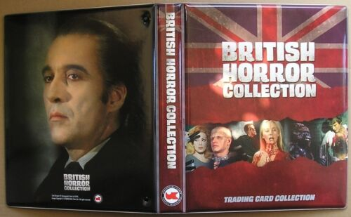 B2 Promo Trading Cards British Horror Collection Trading Card Binder c//w B1