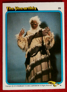 STAR TREK - MOVIE - Card #29 - THE UNEARTHLY - TOPPS 1979