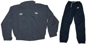 Jacket AND Pant - NFL Coach/Staff GAME ISSUE Waterproof Rain/Wind Suit - BRONCOS