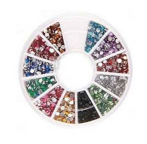 1200-Strass-pour-Decoration-Ongles-Briller-Crystals