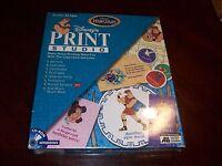 Disney's Print Studio Hercules Cd Rom Software Windows 95 Create Banners Diaries