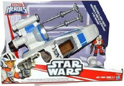 STAR WARS GALACTIC HEROES RESISTANCE X-WING WITH FIGURE BRAND NEW /& SEALED
