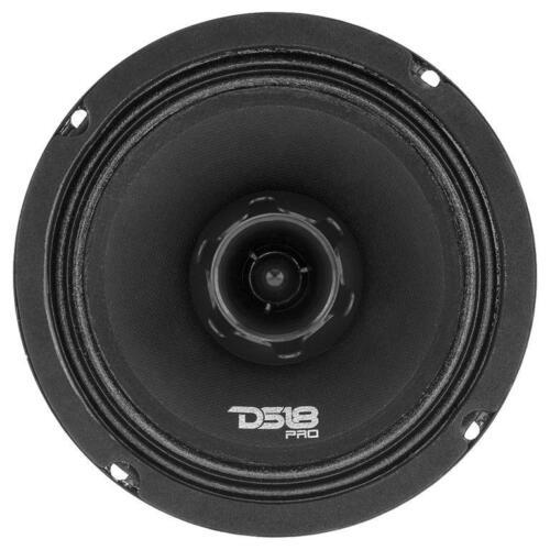 "DS18 PRO-ZT6 6.5/"" 2 Way Loud Speaker 450W Max 4-ohm Pro Car Audio Full Mid Range"