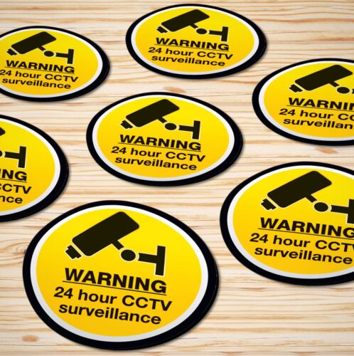 Warning Stickers Self Adhesive Prohibited Hazard Label Sign Notice ✔DOGS ALLOWED