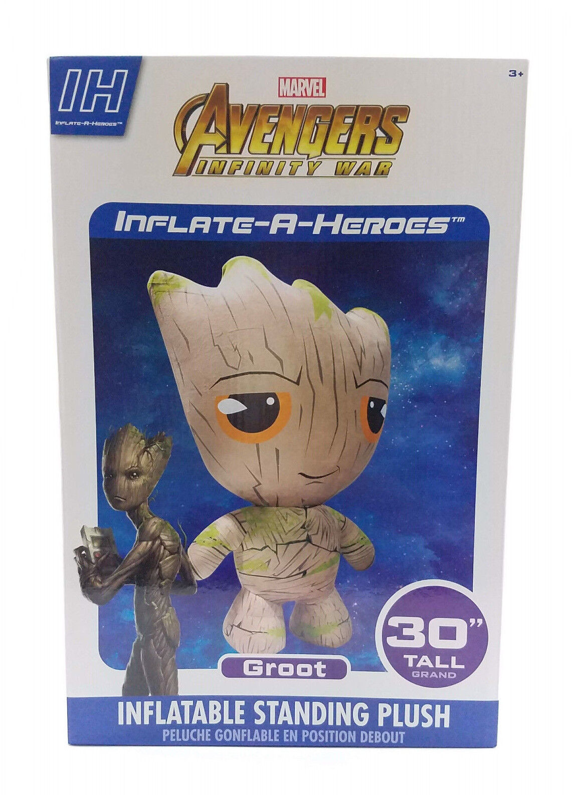 Marvel Infinity Wars Groot Inflate-A-Hero Inflatable Plush Super Hero Toy 30