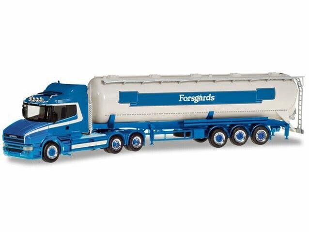Herpa Herpa Herpa 309868 H0 LKW Scania Hauber Silo-Sattelzug Forsgard  | Outlet Store  83fdf9