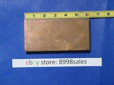 "CHEAP COPPER C11000 C110 Bar Solid Round  Cu 99.9/% 1/"" 3# 12/"" Long"