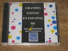 NEW RARE CD GRANDES EXITOS EN ESPANOL DE ARC REGENT MUSIC CORPORATION PROMO