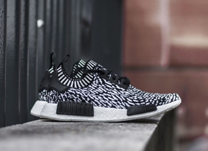 Details about ADIDAS NMD R1 PK SHOES ZEBRA BLACK SASHIKO BY3013 US MENS SZ