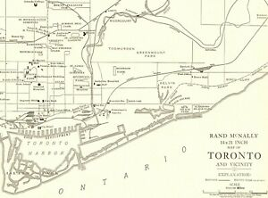 Details about 1927 Antique TORONTO Canada City Map UNCOMMON RARE Size on u.s. city map, north america city map, europa city map, mediterranean city map, mongolia city map, rocky mountains city map, maldives city map, albania city map, cameroon city map, ak city map, montenegro city map, guantanamo city map, british city map, siberia city map, ksa city map, west germany city map, south city map, middle ages city map, europe city map, sudan city map,