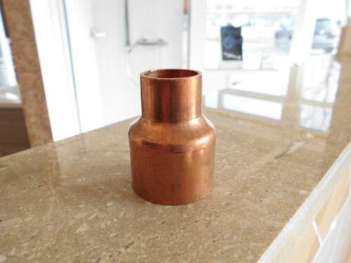 Kupfer Lötfitting Muffe reduziert 35 x 22mm Nr.5240 f Solar /& Heizung /& Sanitär