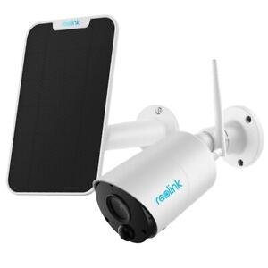 1080p-HD-WLAN-IP-Uberwachungskamera-Aussen-Kabellose-Reolink-Argus-Eco-Solarpanel