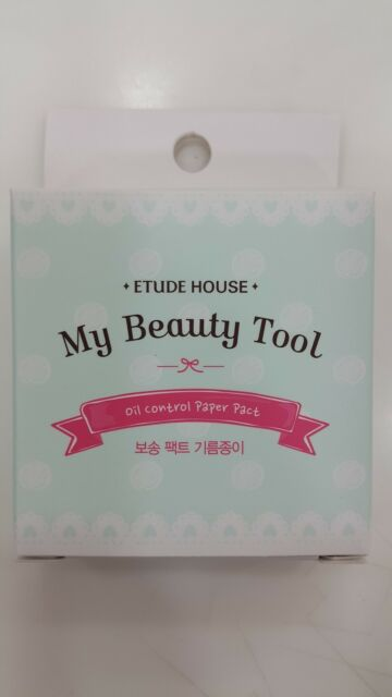 [Etude House] My Beauty Tools Oil Control Paper Pact + Refill Set