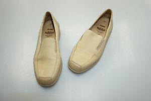 SOLIDUS-Damen-Comfort-Schuhe-Mokassins-Slipper-Einlagen-Gr-3-5-36-hellbeige-TOP