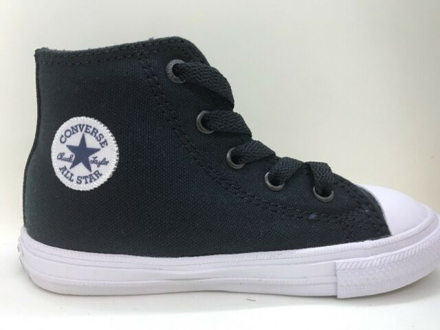 dc264a21eb7c Converse Chuck Taylor All Star II Hi 750143c Black White Canvas ...