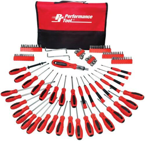 Screwdriver Set Security Precision Tools Case Craftsman Repair PouchMagnet 100pc
