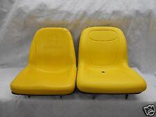 YELLOW SEAT FITS JOHN DEERE COMPACT TRACTORS 2305 2320,2520, 2720  JD #KA