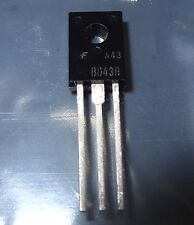 1 pc BD438 PNP, 45V, 4A Medium Power Transistor