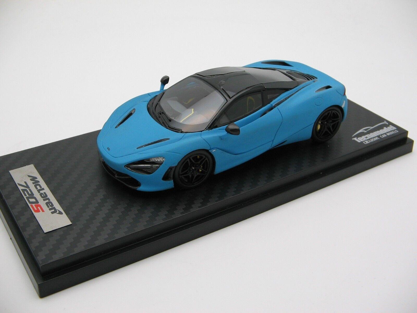 1 43 scale Tecnomodel McLaren 720S Baby bleu Matt 2017 T43-EX08C