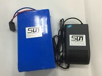 36v 20ah LiFePO4 Batteries Rechargeable 5A Charger BMS EBIKE POWERFUL VIA UPS