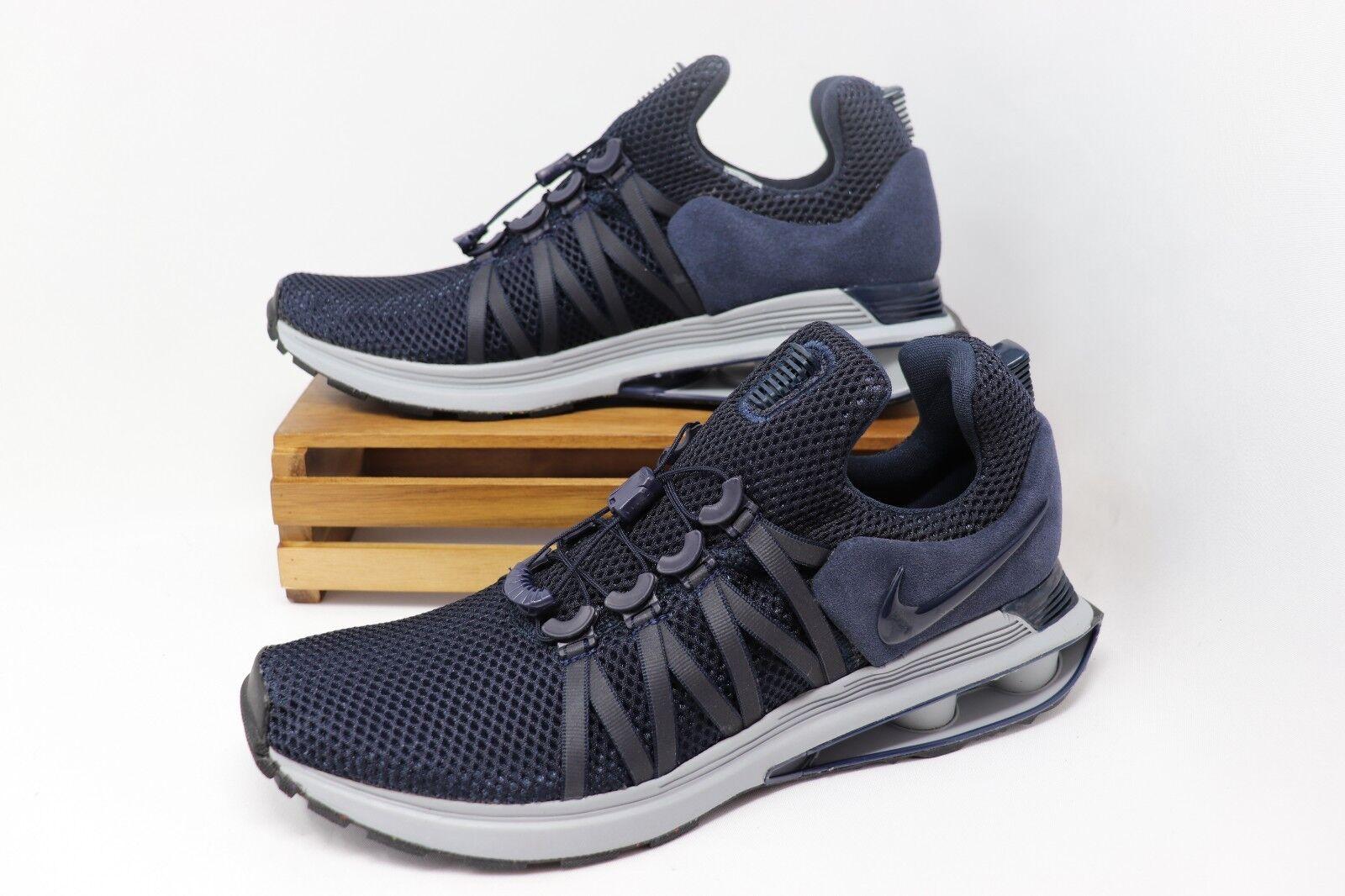 Nike Shox Gravity Running shoes Navy bluee White AR1999-402 Men's NWOB