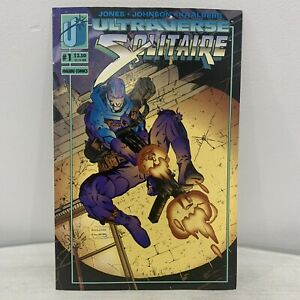 Ultraverse-Solitaire-1-Comic-Book-amp-Trading-Card-Jeff-Johnson-Excellent