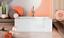 miniatura 6 - Badewanne Wanne für barrierefreies Bad mit Tür links 140 cm mit Sitz Acryl