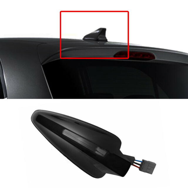OEM Parts Roof Shark Fin Antenna DMB FM Satellite GPS Black for KIA 2018 Picanto