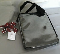 Brand Rolfs Silver E Reader Case Faux Leather Cross Body Bag Neck Purse