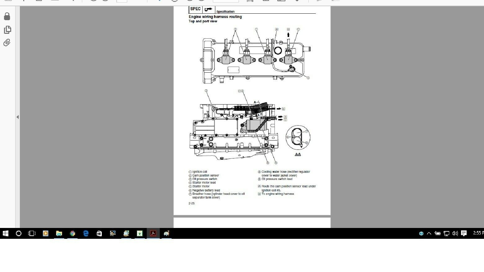 Yamaha Jet Boat Service Manual Ar Sx 190 2012 2014 Engine Wiring Harness Norton Secured Powered By Verisign