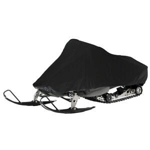 Lunatic Snowmobile Cover - Black - Universal for Yamaha for Polaris for Ski-Doo