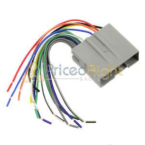 ford lincoln mercury radio install wire harness installation fd 5520 rh ebay com