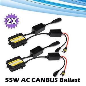 2X Fit H8 H1 H3 HB3 HB4 H7 H4 H11 Slim Digital Ballast Hid Xenon Conversion New