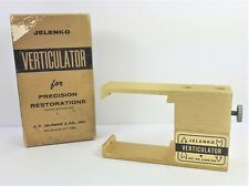 Jelenko Verticulator For Precision Restoration Vintage Dental Lab Equipment