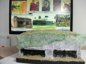 1-35-WW2-Soviet-Russian-Stalin-Line-Bunker-for-your-diorama-2