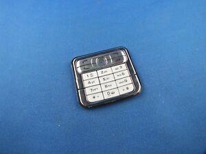 Original-Nokia-N73-Keypad-N-73-Tastaturmatte-Tastatur-Weiss-Silber-Neu-White-NEW